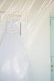 красивейшее венчание платья стоковое фото