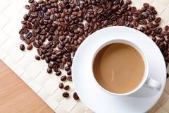 красивейшее время кофе Стоковая Фотография