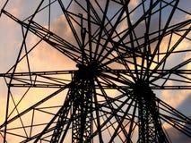 красивейшее гигантское колесо Стоковые Фотографии RF