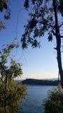 красивейшее голубое море Стоковое фото RF