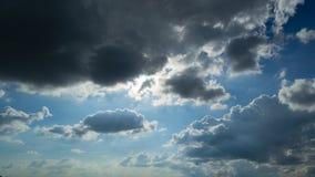 красивейшее голубое небо стоковые фотографии rf