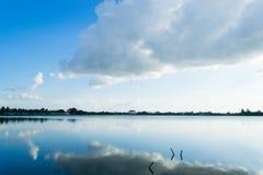 красивейшее голубое небо стоковое изображение