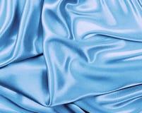 красивейшее голубое silk ультрамодное Стоковые Фотографии RF
