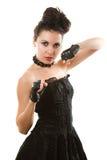 красивейшее динамически изображение девушки сексуальное Стоковые Фото