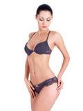 Красивейшее женское тело Стоковое Изображение