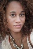 красивейшее женское headshot Стоковые Изображения RF