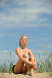 красивейшее женское sporty Стоковая Фотография