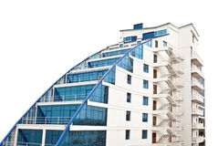 красивейшее здание самомоднейшее Стоковая Фотография