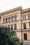 красивейшее здание старое Стоковое Фото