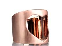 красивейшее золото браслета Стоковое фото RF