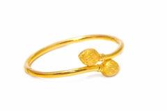 красивейшее золото браслета Стоковое Изображение