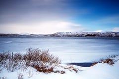 Красивейшее изображение зимы landscape Стоковые Фото