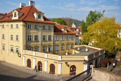 Красивейшее историческое здание Прага стоковое изображение