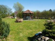 красивейшее классическое лето сада Стоковая Фотография RF