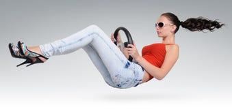 красивейшее колесо водителя Стоковые Фотографии RF