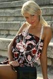 красивейшее лето девушки Стоковое Изображение RF