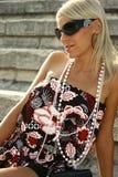 красивейшее лето девушки Стоковое Фото