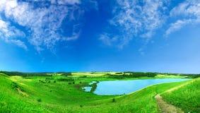 красивейшее лето ландшафта Стоковое Изображение RF