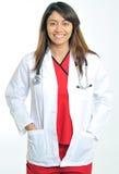красивейшее медицинское multi профессиональное расовое Стоковые Изображения RF