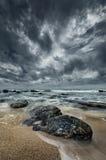 Красивейшее место пляжа Стоковое Изображение