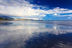 красивейшее море ландшафта Положение: Новая Зеландия Стоковые Изображения