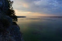 красивейшее море ландшафта Стоковые Изображения RF