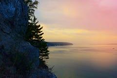 красивейшее море ландшафта Стоковые Фото