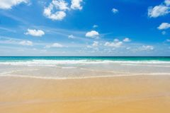 Красивейшее море karon phuket Таиланд пляжа ashurbanipal Стоковые Фотографии RF