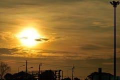 красивейшее небо облаков Стоковые Изображения
