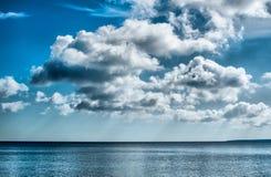 красивейшее небо облаков Стоковые Фото