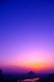 красивейшее небо Стоковое Изображение
