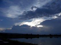 Красивейшее небо стоковая фотография rf