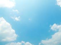 Красивейшее небо Стоковое фото RF