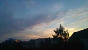 Красивейшее небо Стоковые Фото