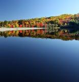 красивейшее озеро падения Стоковая Фотография RF