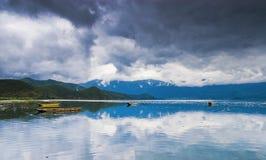 красивейшее озеро фарфора Стоковое Изображение
