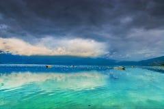 красивейшее озеро фарфора Стоковая Фотография RF