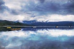красивейшее озеро фарфора Стоковое Изображение RF