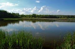красивейшее озеро Стоковое фото RF