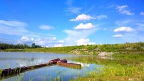 красивейшее озеро Стоковая Фотография