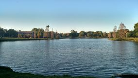 красивейшее озеро Стоковое Изображение
