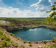красивейшее озеро стоковое фото