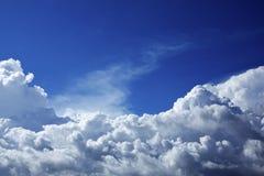 красивейшее пасмурное небо Стоковая Фотография RF