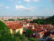 Взгляд Panoramatic Праги Стоковые Фото