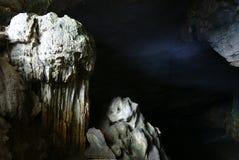 Красивейшее разнослоистое подземелье karst Стоковые Фото