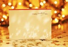 красивейшее рождество карточки Стоковые Изображения RF