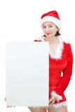 красивейшее рождество костюмирует девушку Стоковые Фотографии RF