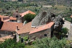 красивейшее село Португалии monsanto Стоковое Изображение
