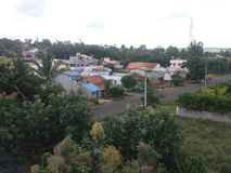 красивейшее село стоковые изображения rf