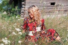 красивейшее село blondie Стоковые Изображения RF